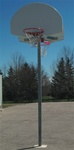 SINGLE OR DOUBLE SIDED OUTDOOR BASKETBALL BACKSTOP (POLE ONLY)