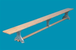 BALANCE BENCH 10`WITH ALUMINUM LEGS